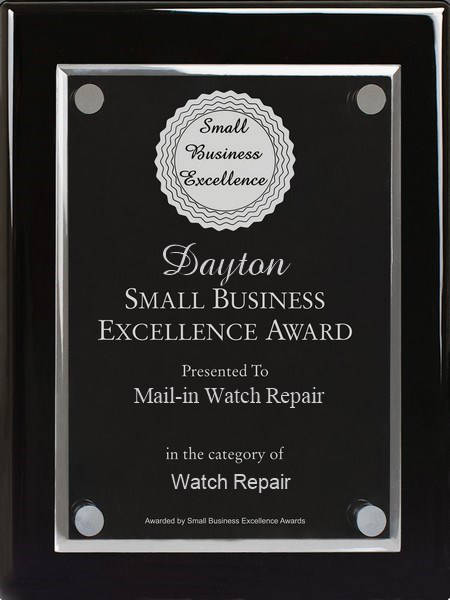 Mail In Watch Repair - Small Business Award - Dayton OH